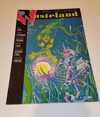 Wasteland (DC) #3 1988 FN