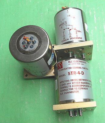 1pc RLC STR-3-D 28V SMA RF coaxial switch