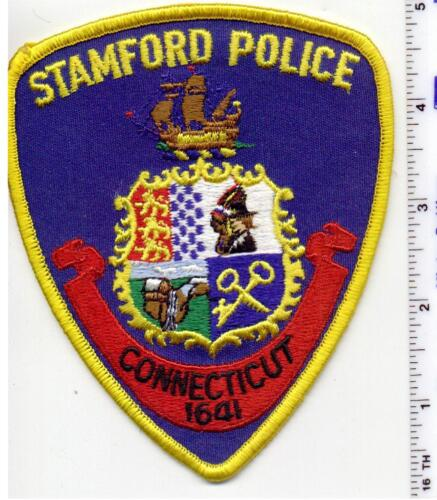 Stamford Police (Connecticut) Uniform Take-Off Shoulder Patch - early 1980