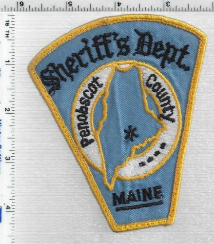 Penobscot County Sheriffs Dept (Maine) 2nd Issue Uniform Take-Off Shoulder Patch