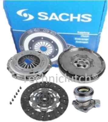 SAAB 9-3 1.9 TID 150 BHP F40 CLUTCH KIT WITH CSC AND SACHS DUAL MASS FLYWHEEL