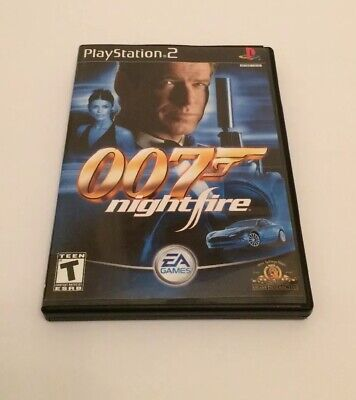 007: NightFire (Sony PlayStation 2, 2002) With Manual