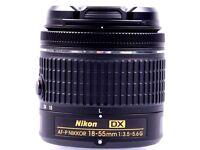 Brand New Nikon AF-P DX 18-55mm lens for D5500, D5300, D3300 etc