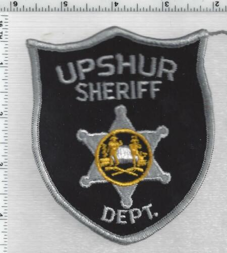Upshur County Sheriff Dept. (West Virginia) 2nd Issue Shoulder Patch
