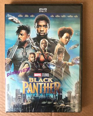 Black Panther 2018 DVD Michael B. Jordan DVD New & Sealed Free Shipping US RG1