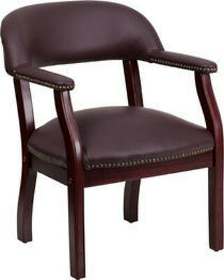 Flash Furniture Leather Side Chairs B-z105-lf19-lea-gg Chair New