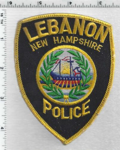 Lebanon Police (New Hampshire) 2nd Issue Shoulder Patch