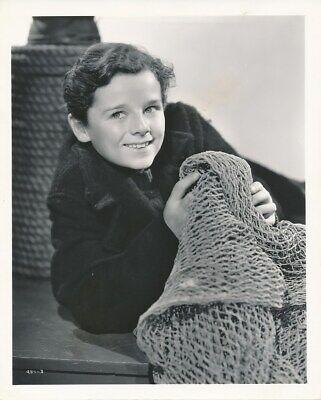 FREDDIE BARTHOLOMEW Original Vintage 1937 CLARENCE BULL Stamp MGM Portrait Photo