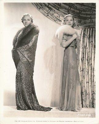 MARY CARLISLE FAY HOLDEN Original Vintage 1937 Paramount Pictures Portrait Photo