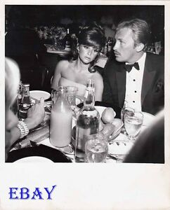 Lynn Loring Roy Thinnes candid VINTAGE Photo How To Steal A Million Premiere