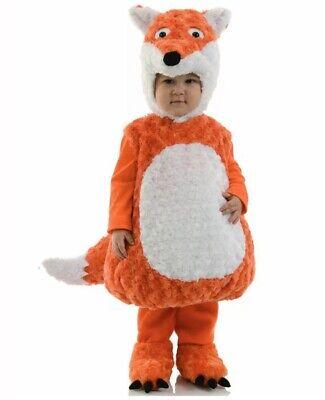 Fox Toddler Costume (Cuddly Fiery Fox Woodland Animal Bodysuit Toddler)