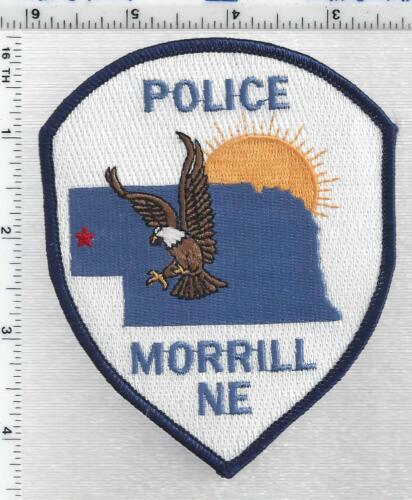 Morrill Police (Nebraska) 1st Issue Shoulder Patch