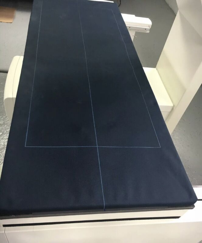 LNR3908 TABLE PAD FOR GE LUNAR DPX IQ BONE DENSITOMETER, DARK BLUE ( CLOTH)