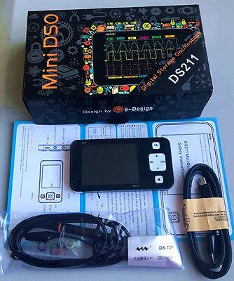 Portable Mini Nano Arm Dso211 Pocket-sized Handheld Digital Storage Oscilloscope