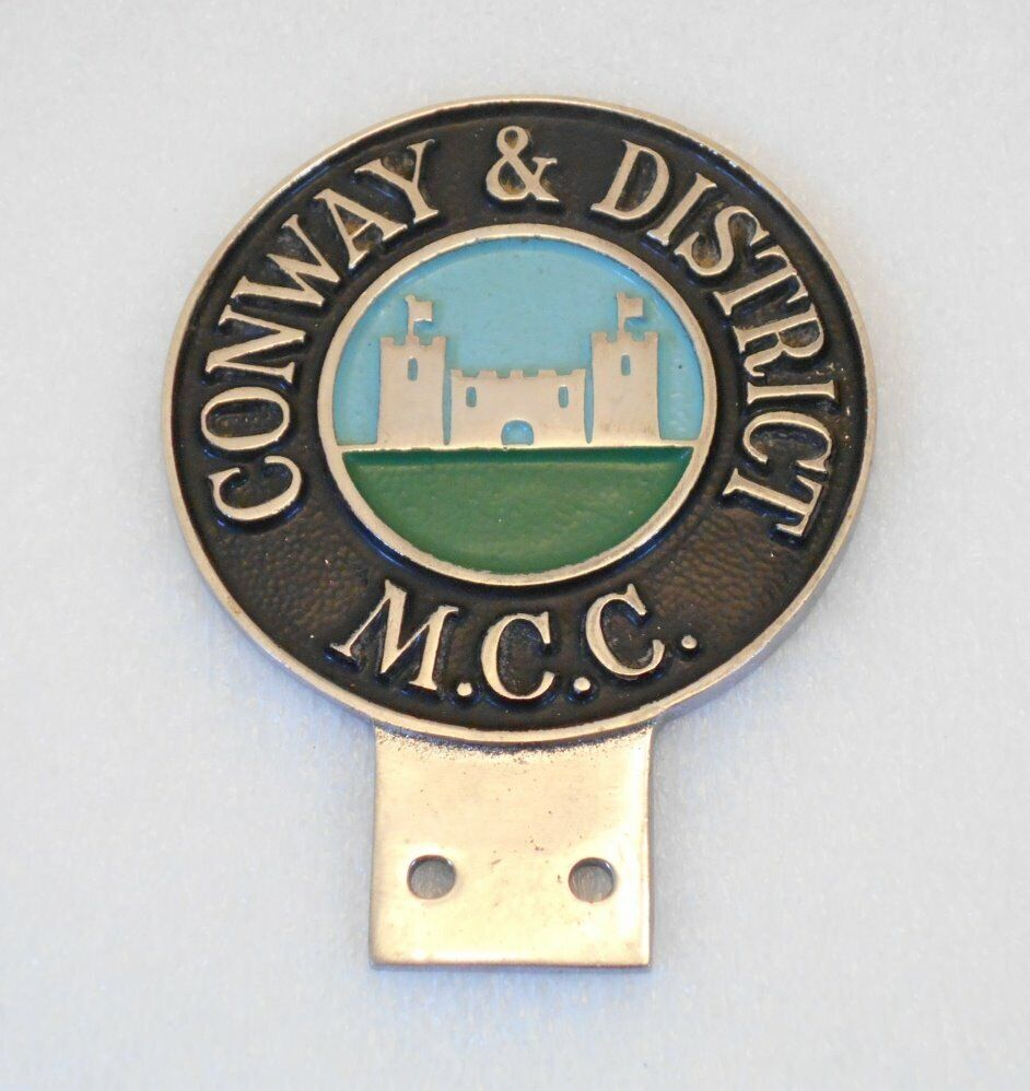 Car Badge - Conway & District M C C  Part of a large set of Automobilia for  sale  REDUCED  | in Liverpool, Merseyside | Gumtree