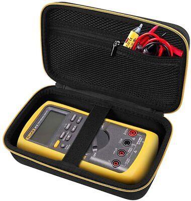 Multimeter Carrying Case For Fluke Protective Comecase Hard 87-v Digital Black