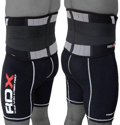 Rdx Lumbar Lower Back Support Belt Brace Pain Relief Gym Training Weight Lifting