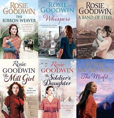 ROSIE GOODWIN ___ 6 BOOK SET __ BRAND NEW __ FREEPOST UK
