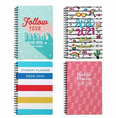New 2020 2021 Student Weekly Daily Planner Agenda Monthly School Your Choice