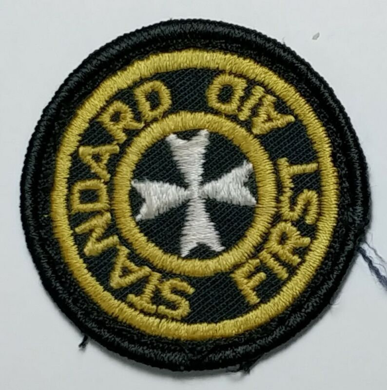 Obsolete Old Canada Standard First Aid Service Patch Badge Insignia Paramedic si