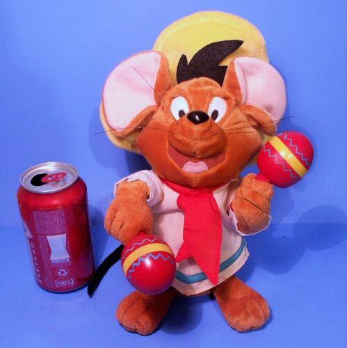 "Warner Bros Studio Store (10"" Speedy Gonzales) Gemmy Animated Plush La Bamba"