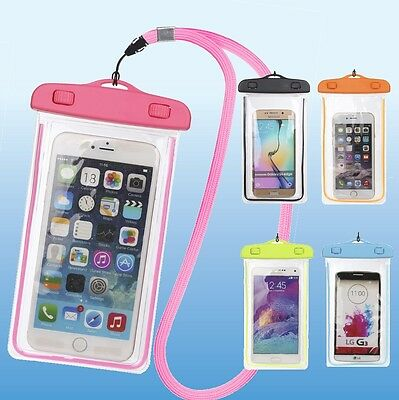 Dry Pack Cell Phone Cases (Underwater Waterproof Bag Pack Dry Phone Pouch Clear Case For iPhone Galaxy )