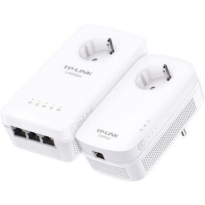 Powerline TP-LINK TL-WPA8630P Kit 2 PLC (AV1300 - AC1200 - 3 Puertos)