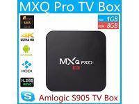 MXQ PRO 2017 4K Quad Core Android 6.0 TV Box - Media Player - Kodi 17.1 £35