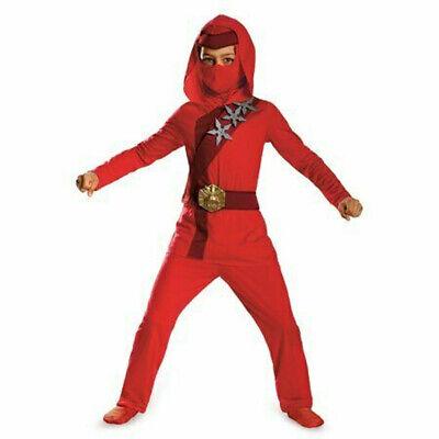 Disguise Shadow Ninja Night Fury Red Fire Ninja Child Costume - Night Fury Costume
