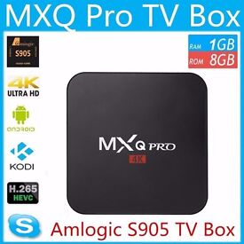 MXQ PRO 2017 4K QUAD CORE ANDROID 6.0 TV BOX MEDIA PLAYER BRAND NEW WITH RECEIPT