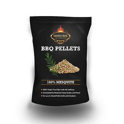 Mesquite Barbecue - Lumber Jack 100% Mesquite BBQ Grilling Pellets