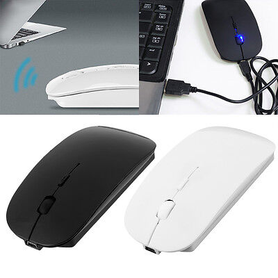 Portable Rechargeable Bluetooth 3.0 Wireless Mouse For Laptop PC Tablets ST