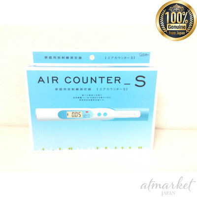 S.t Air Counter S Dosimeter Radiation Detector Geiger Meter Tester New Fs Japan