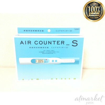 S.t Air Counter S Dosimeter Radiation Detector Geiger Meter Tester New Fs Japan
