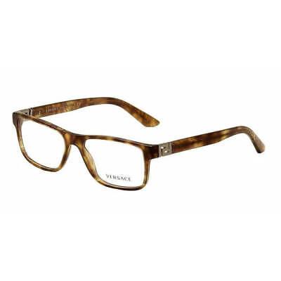 Versace Mod. VE 3211 Marble Brown 5143 Plastic Eyeglasses Frame 53-17-145 New RX