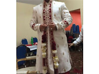 Men's Shirvani wedding suit