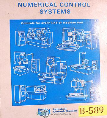Bendix 5m Cnc Lathes Operations Programming And Maintenance Manual 1980