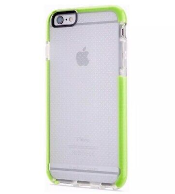 Brand New Tech21 Evo Mesh Sport case for iphone 6/6s Clear/Green