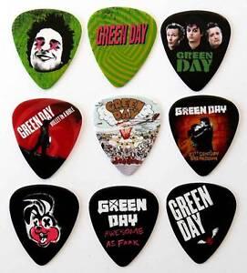 green day guitar picks ebay. Black Bedroom Furniture Sets. Home Design Ideas