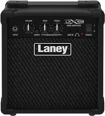 Amplificatore combo per BASSO ELETTRICO LANEY LX10B Potenza 10 watt RMS 1x5