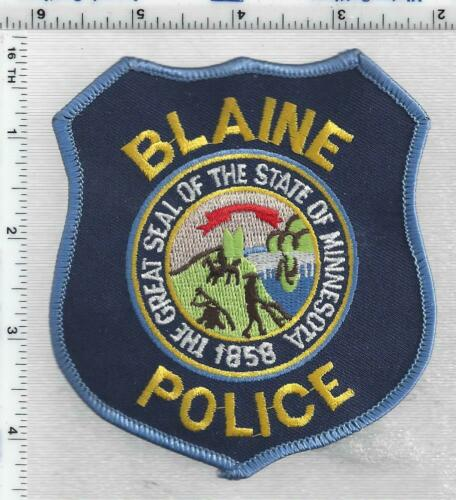 Blaine Police (Minnesota) 2nd Issue Shoulder Patch