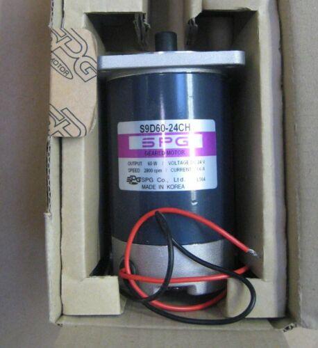 SPG 24 VDC Gearmotor -- S0D60-24CH motor,  with 40:1 ratio  S9KC40BHA gearhead
