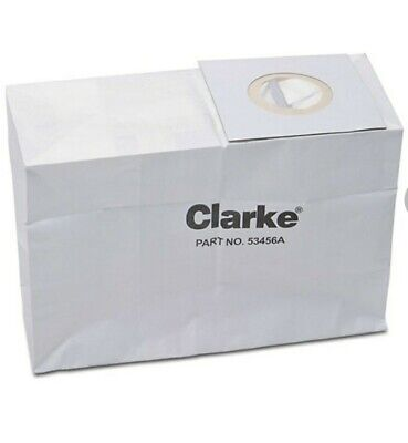 Clarke Carpetmaster 30 Wide-area Upright Vacuum Cleaner Bags 53456a - 10pk