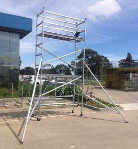【Aussie shop】4.0m aluminium mobile scaffold tower Dandenong South Greater Dandenong Preview