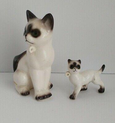 Mid Century Ceramic Art Vintage Cat Figurine White Cat Shelf Ornament Kitten Terracotta Cat Vintage Ceramic Cat Kitty