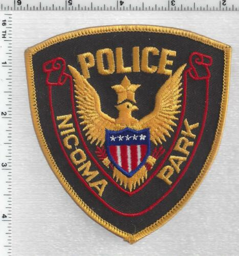 Nicoma Park Police (Oklahoma) 5th Issue Shoulder Patch
