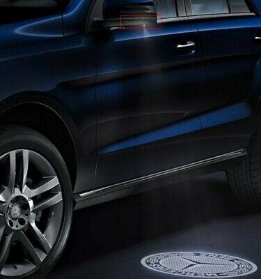 NEU ! Mercedes Außenspiegel umfeldbeleuchtung Projektor LED Logo
