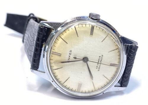 Anker Armbanduhr Shockproof Antimagnetic Handaufzug Vintage mit Lederarmband