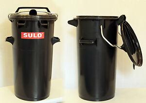 NEU 50L Tonne Made in Germany Mülleimer Abfalltonne Futtertonne SULO 50 Liter