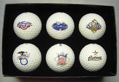 Father Golf Ball Set - Titleist MLB Houston Astros 2008 Father's Day LTD ED Golf Ball Set